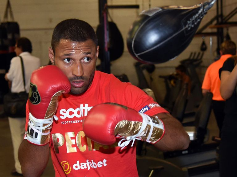 Kell Brook: Bidding for world title glory this weekend