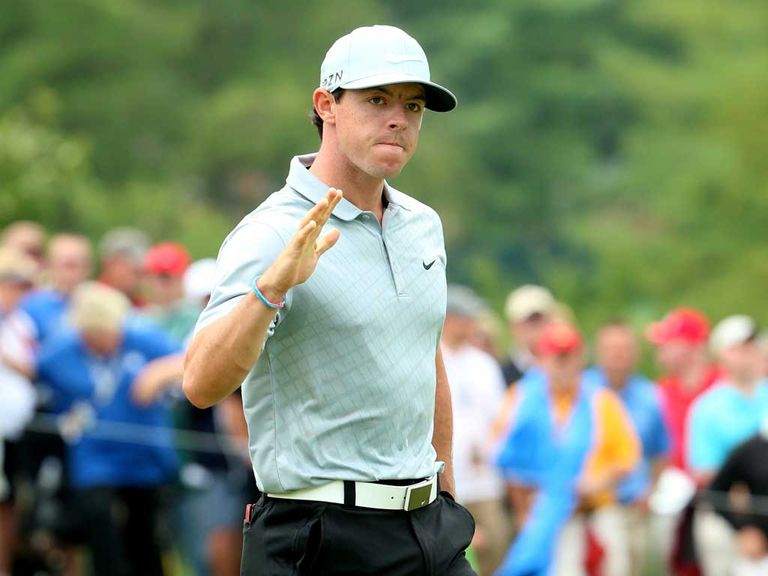Rory McIlroy: Leads the US PGA