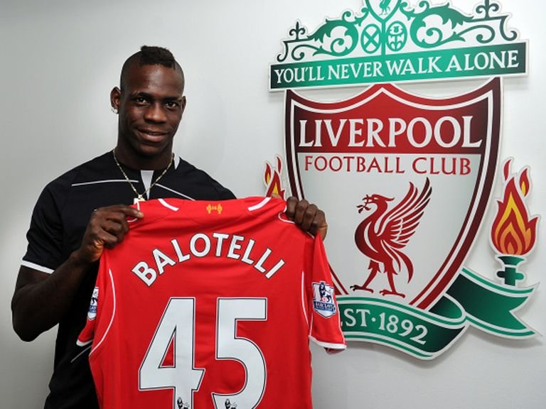 Mario Balotelli: Now a Liverpool player