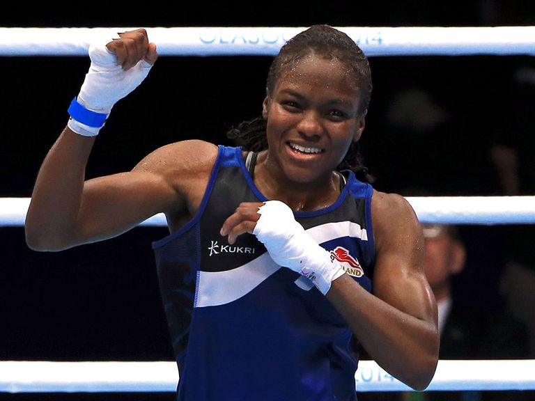 Nicola Adams: Claimed gold after a split decision