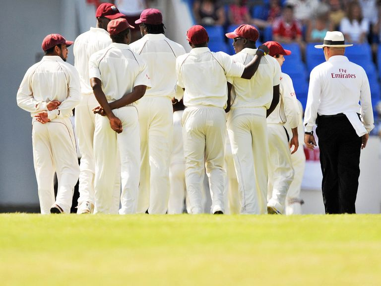 Sir Vivian Richards Stadium: Play was abandoned after just 10 balls in 2009