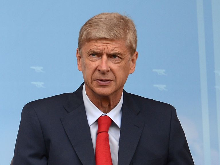 Arsenal manager Arsene Wenger: Watched his side lose on Sunday