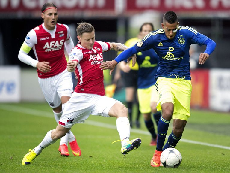Ajax beat AZ Alkmaar 3-1 on Sunday