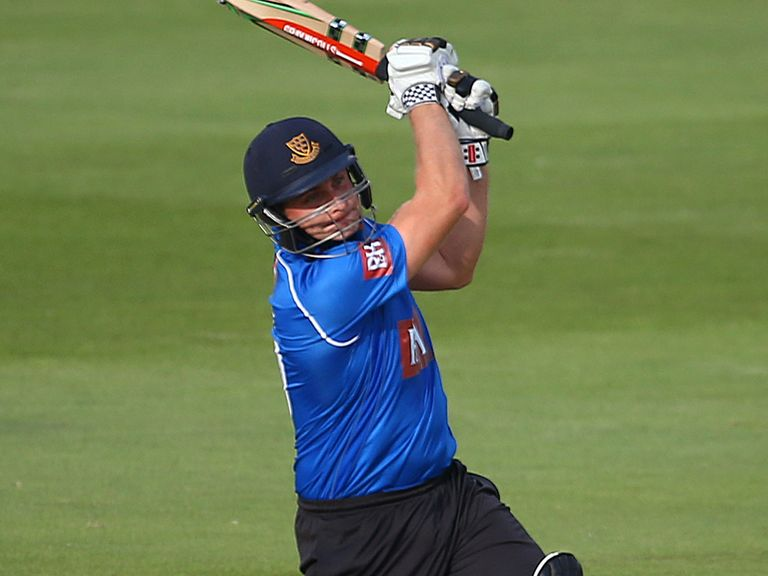 Luke Wright: Helped Sussex claim victory