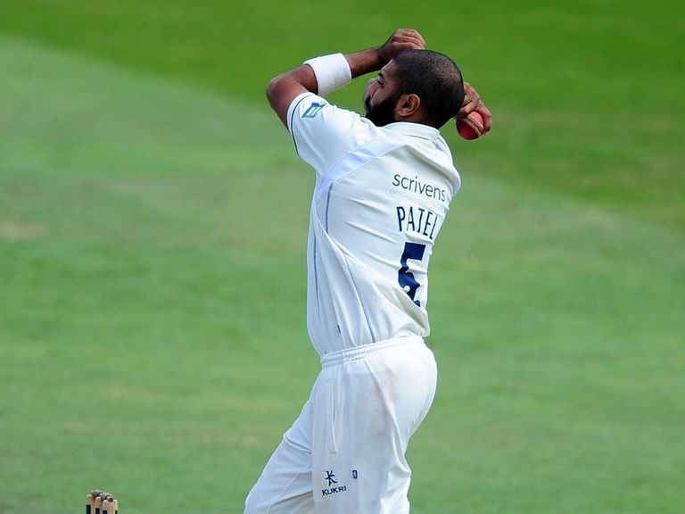 Jeetan Patel of Warwickshire took four wickets