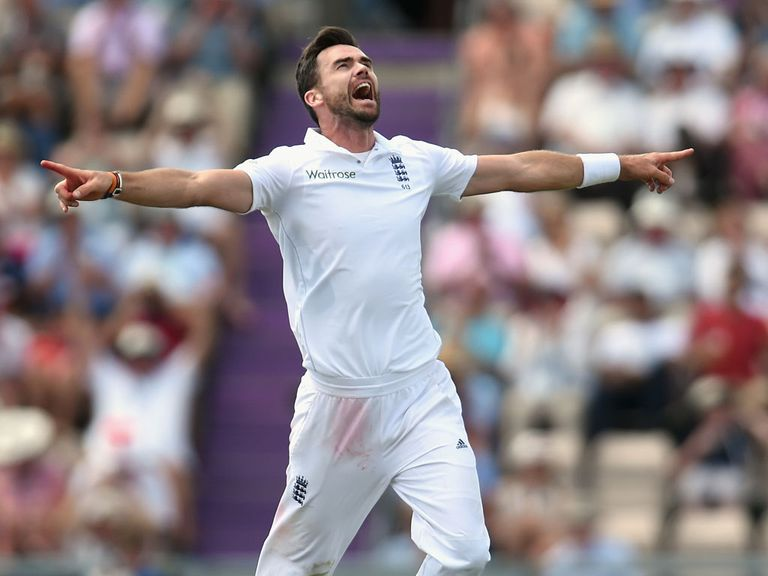 James Anderson: Rated as the best in the world