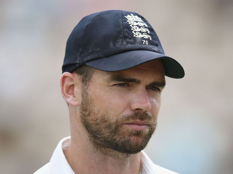 James Anderson: Was last week cleared of any wrong-doing