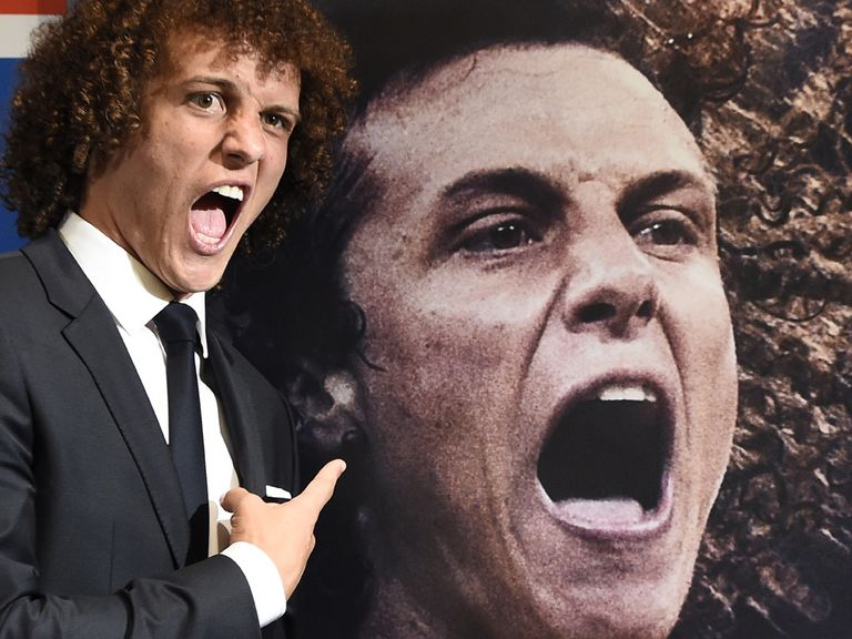 David Luiz: Has now arrived at PSG