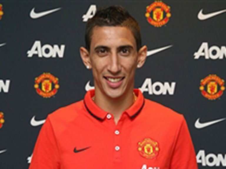 Angel di Maria: Relishing the challenge at Manchester United