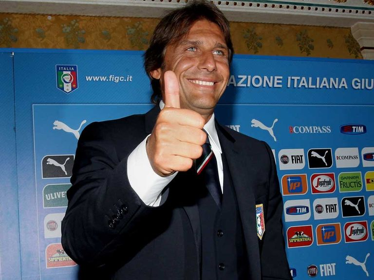 Conte: Signed a two-year deal with the Italian national team
