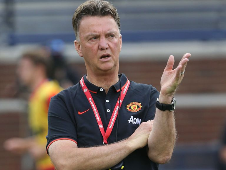Louis van Gaal: Unbeaten in pre-season as Manchester United boss