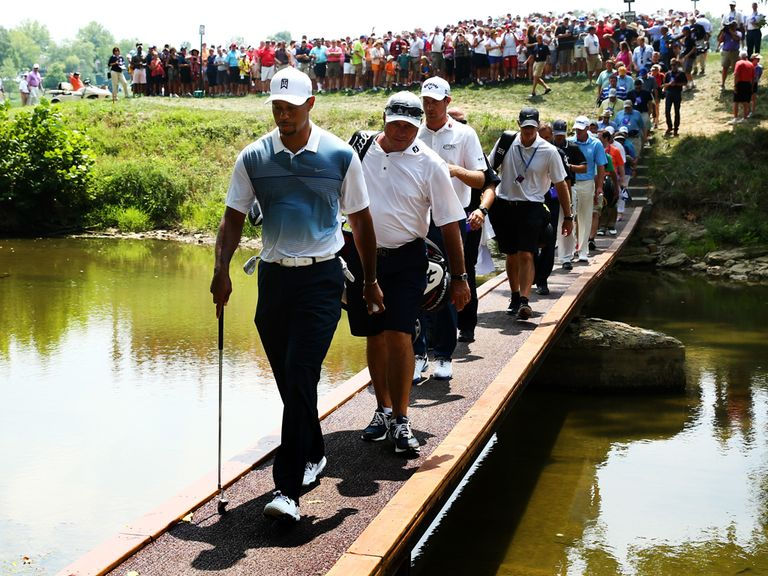 Tiger Woods is ready to compete in the US PGA Championship