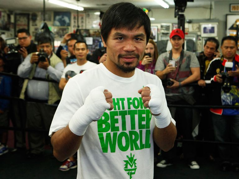 Manny Pacquiao: Willing to fight Mayweather at any time