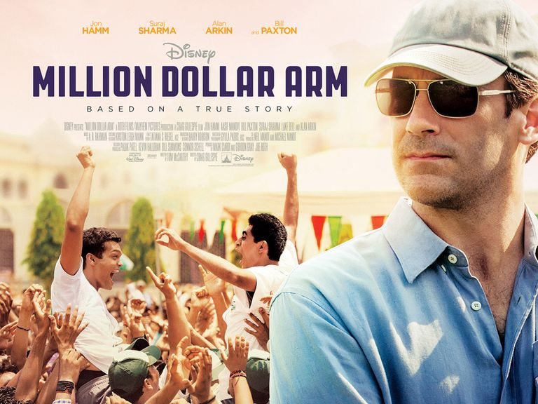 Million Dollar Arm is released on Friday August 29