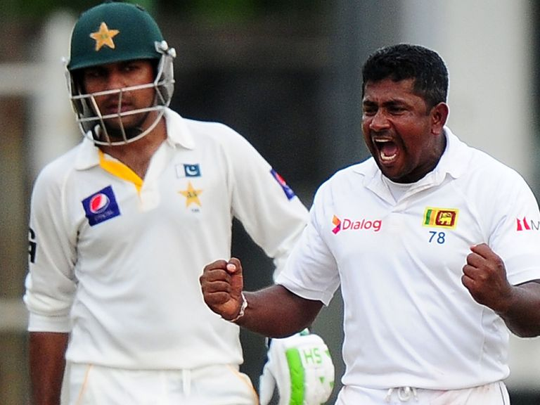 Rangana Herath: Picked up five wickets in Colombo