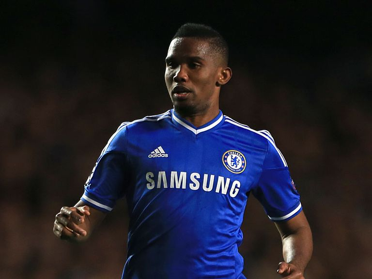 Samuel Eto'o: Signed a two-year deal with Everton