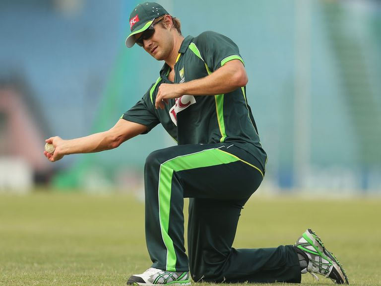Shane Watson is out of Australia's trip to Zimbabwe after spraining an ankle in training