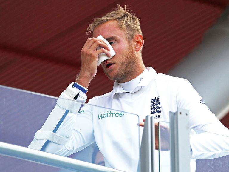 Stuart Broad: Named in unchanged squad for fifth Test