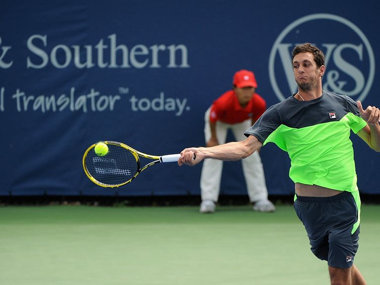 James Ward: Through to the second qualifying round of the US Open