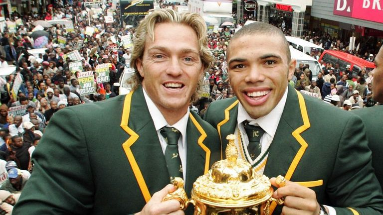 Habana helped South Africa win the World Cup in 2007