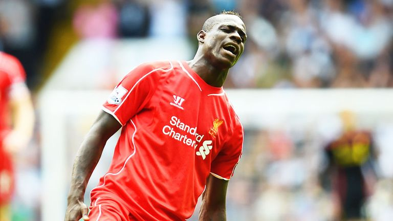 Mario Balotelli: Liverpool striker made his debut against Tottenham on Sunday