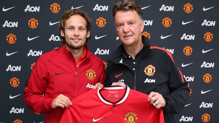 Manchester United have signed Daley Blind on a four-year deal