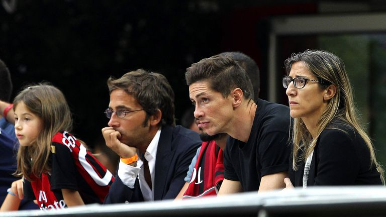 Fernando Torres: Watching AC Milan's 3-1 home win over Lazio on Sunday