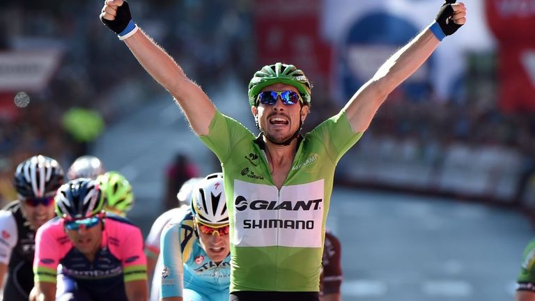 John Degenkolb won his third stage of this year's Vuelta