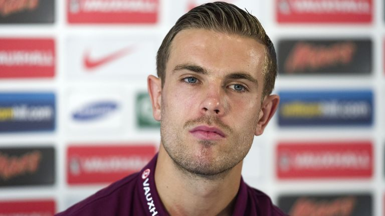 Jordan Henderson: At Monday's press conference