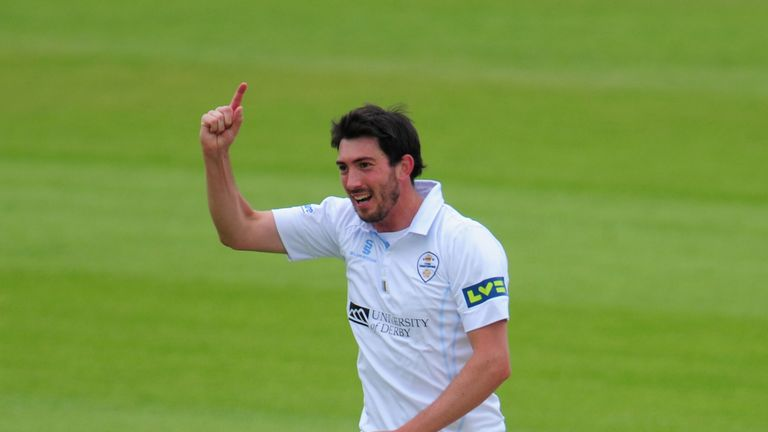 Mark Footitt: Derbyshire fast bowler ripped into Worcestershire batting line-up