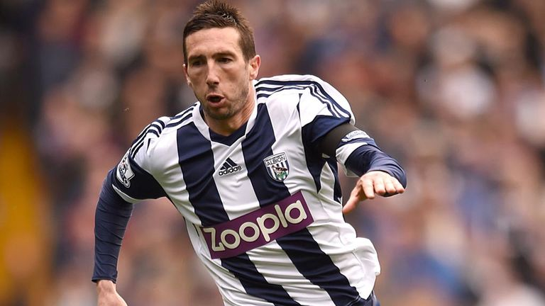 Morgan Amalfitano in action for the Baggies last May