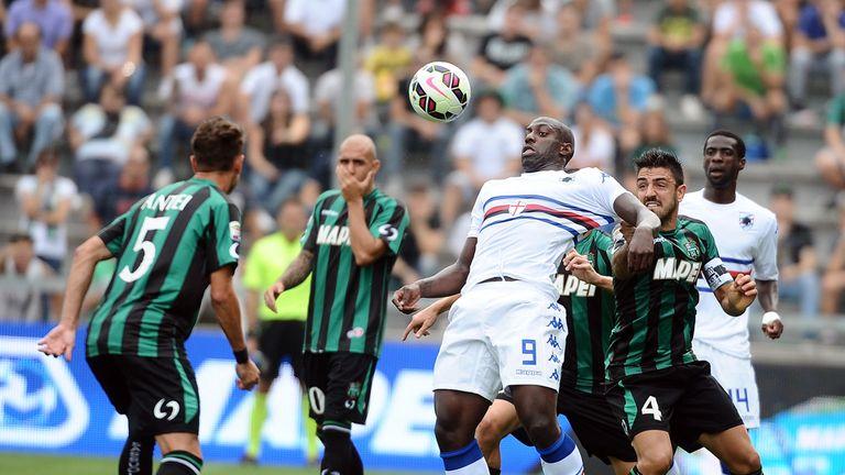 Stefano Okaka keeps possession