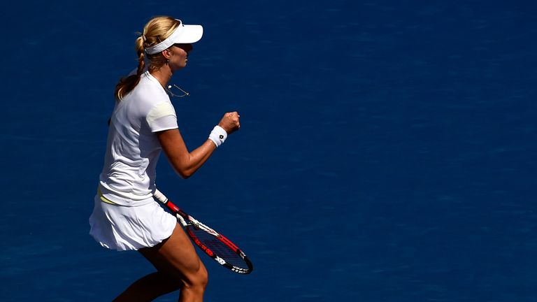 Ekaterina Makarova: Faces Serena Williams in the last four