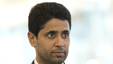 Nasser Al Khelaifi: Wants PSG to top their Champions League group