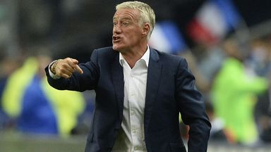 Didier Deschamps: Remains in charge until the 2018 World Cup in Russia