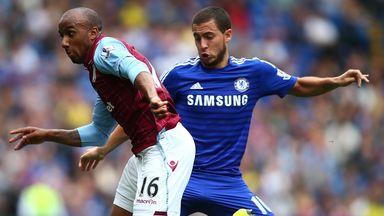 Eden Hazard: Not at his best against Villa, admits Mourinho