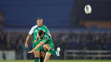 Jack Carty: Starts at fly-half in Connacht's all-important showdown with Glasgow