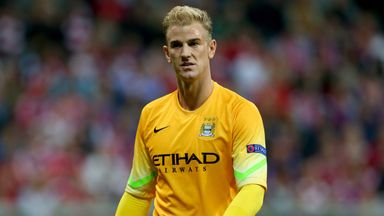 Joe Hart: Expected to follow the likes of Vincent Kompany and Sergio Aguero in signing a new deal.