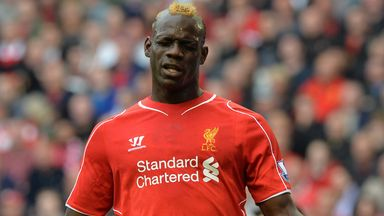 Mario Balotelli: Could lose his place in the side