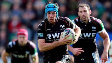 Justin Tipuric: Captains the Ospreys against struggling Zebre