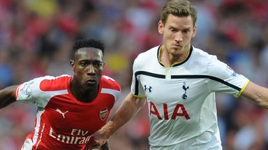 Jan Vertonghen: Returned to the Spurs side at The Emirates