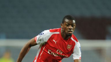 Abou Diaby: Set to be converted into a defensive midfielder