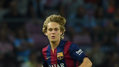 Alen Halilovic: Enjoying life at Barcelona following move from Dinamo Zagreb