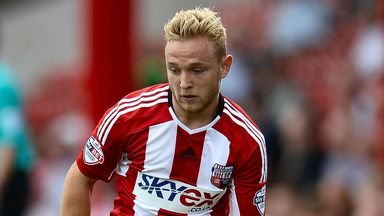 Alex Pritchard: Scored from the spot to seal win for Brentford