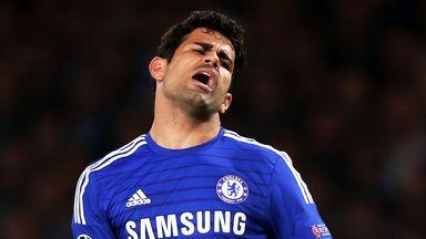Diego Costa: Jose Mourinho upset with his treatment
