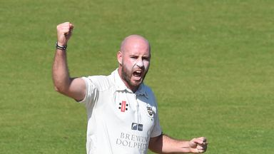Chris Rushworth: Claimed 15 wickets in just 20 overs to help Durham to victory