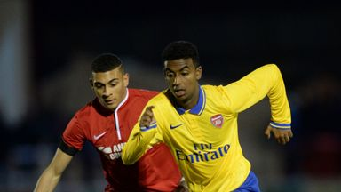 Karlan Ahearne-Grant (left): Youngster signs Charlton Athletic contract