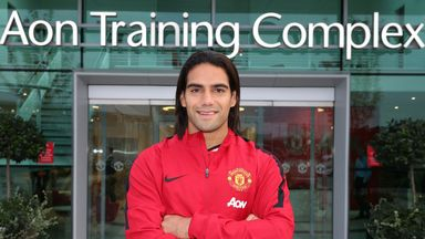 Radamel Falcao: how will the summer signing slot in to Manchester United