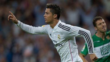 Cristiano Ronaldo: Lit up the La Liga match against Elche