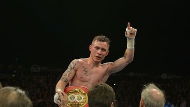Carl Frampton: was bang on the super-bantamweight limit